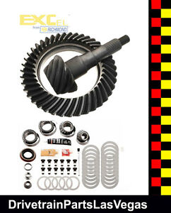 Richmond Excel Ford 9 75 12 Bolt 3 73 Ratio Ring Pinion Gear Set