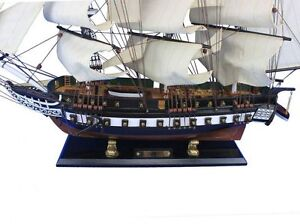 Wooden Handcrafted Model Ship 32 Assembled High Museum Quality Amazing Detail