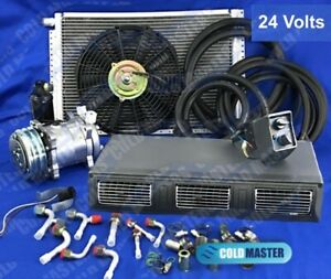 A c kit Universal Under Dash Evaporator 450a Hd Kit Air Conditioner 24v