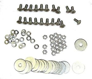 1934 1935 1936 1937 1938 1939 Rear Fender Bolt Kit Stainless Chevy Gmc Truck