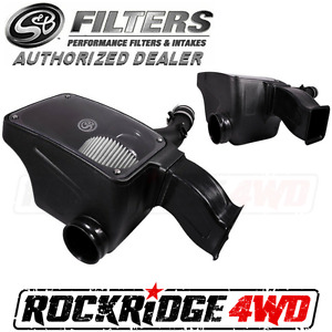 S b Filters Cold Air Intake For 2016 2017 Toyota Tacoma 3 5l dry Extendable