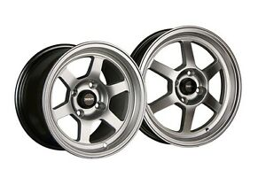 Traklite Launch Drag Staggered Set 13x8 20 15x3 5 10 4x100 Hyper Silver