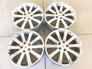 18 18 Inch Oem Factory Cadillac Ats Wheels Rims Set 4 4705 18x8 5x115