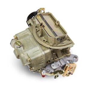 Holley Carburetor 0 80683 Tri power center 325 Cfm 2 Barrel Gold Dichromate