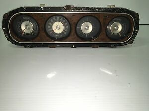 69 70 Cougar Original Speedometer Gauge Dash Cluster Xr7 Eliminator