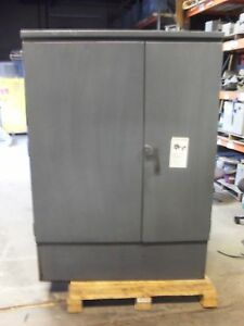 Square D 225kva Transformer 4160v 208v 120v 3 Phase Delta Wye Oil Filled 4 16y