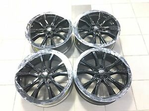 20 20 Inch Factory Oem Ford Explorer Flex Wheels Rims Gloss Black Set 4 10069