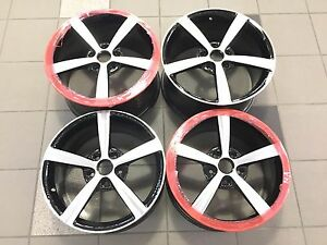 18 19 18 Inch 19 Inch Oem Factory Corvette C7 Wheels Rims Staggered 5630 5636