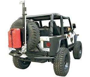 Smittybilt Jeep Cargo Carrier I Rack Intelligent System Tire Mount Accessory