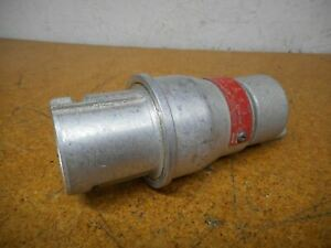 Crouse Hinds Cpp4553 Arktite Series Plug 30a 1ph 2w 1 Pole 125 250vac Used