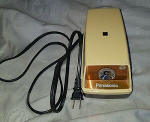 Vintage Panasonic Electric Pencil Sharpener Auto Stop Kp 33s Free Shipping