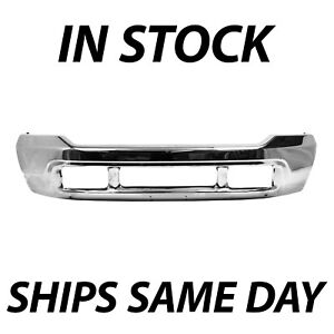 New Chrome Steel Front Bumper Face Bar Replacement For 2000 2004 Ford Excursion