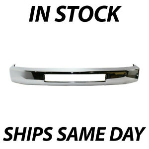 New Chrome Steel Front Bumper Face Bar Replacement For 2008 2016 Ford Econoline