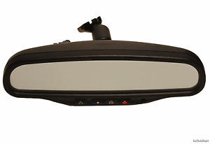 Impala Monte Carlo Oem Gm Onstar Dual Map Light Auto Dim Rear View Mirror 015607