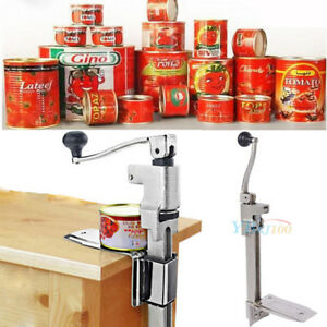 Stainless Steel Table Mounted Bar Kitchen Food Commercial Ideal Can Tin Opener