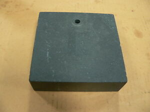 Granite Surface Plate Comparator Transfer Indicator Stand Base 6x6x2