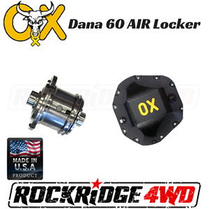 Ox Air Locker Dana 60 4 10 Lower 35 Spline Ford Chevy Dodge Differential Cover