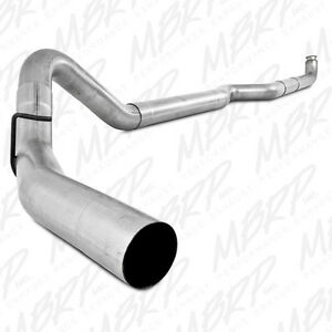 Mbrp 4 Turbo Down Pipe Back Exhaust 01 07 Chevy gmc Duramax 6 6 Boxed To Ship