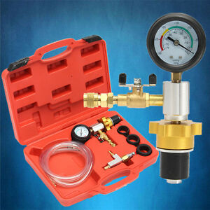 Auto Coolant Vacuum Kit Cooling System Radiator Kit Refill Purging Tool