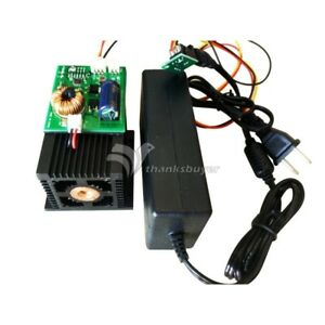 Blue Laser Diode Module Engraving Wood Metal 450nm 445nm 12w 12000mw High Power
