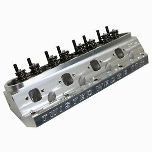 In Stock Trick Flow Twisted Wedge 11r Ford 190cc Cnc Ported Cylinder Head 66cc
