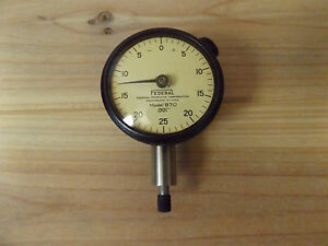Federal Model B70 Dial Indicator 001 usa