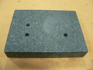 Granite Surface Plate For Transfer Stand 12 X 9 X 2 25 True stone Corporation