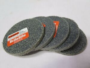 Standard Abrasives 3 X 1 4 X 1 4 Ez Deburring Unitized Wheels Grit Vf S c Qty 5