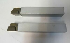 Lot Of 2 Act Ar16 C2 Brazed Carbide Lathe Tool Bits 1 Shank New