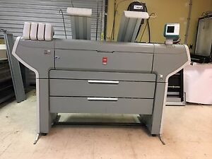 Oce Colorwave 650 Wide Format Printer 4 Rolls