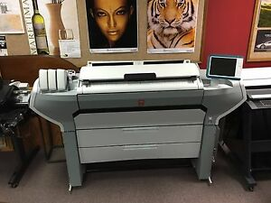 Oce Colorwave 700 Wide Format Printer 4 Or 6 Rolls
