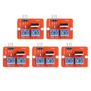 5pcs 0 24v Top Mosfet Button Irf520 Mos Driver Module Control Board For Arduino