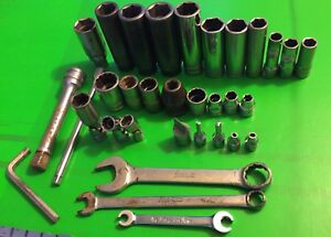 Mac Matco Cornwell Snap On Tools Sockets Wrenches