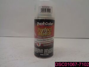 Qty 6 Duplicolor Bcl0125 Paint Perfect Match Touch Up Body Paint Clear Top Coat