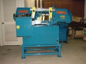 Marvel Model 916 Semi Automatic Horizontal Band Saw Good Condition