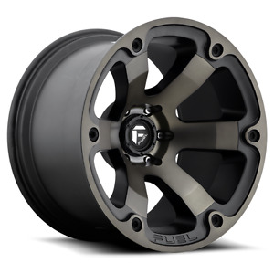 20 Fuel Beast D564 Black Wheels Rims And 33 Toyo At Tires 5x5 5 Dodge Ram 1500