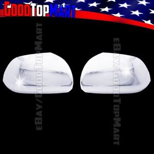 For Toyota Highlander 2008 2010 2011 2012 2013 Chrome Mirror Covers W out Signal