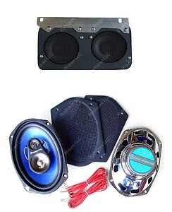 1964 67 Gto Lemans Tempest Dash Speakers Classic Car 6 X 9 s For Stereo Radio