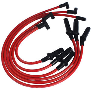 Jdmspeed Performance Red 10 5mm Ignition Spark Plug Wires 3800 Series Ii L67