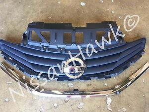 New Oem Nissan Versa Note 2014 2016 Factory Grille Assembly With New Emblem