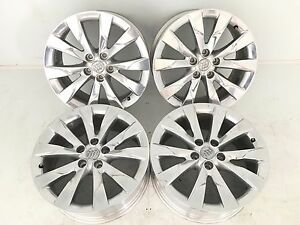 18 18 Inch Oem Factory Genuine Buick Envision Wheels Rims 18x7 5 Polished 4778