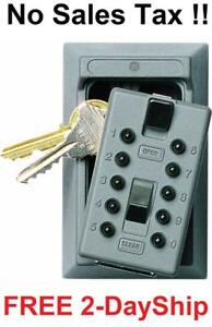 New Lock Box Key Storage Safe Realtor Cabinet Wall Mount Real Estate Security