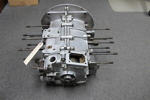 1958 Porsche 356 Engine Short Block Case Crankshaft Rods Cam P 68104