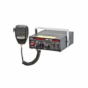 Wolo Manufacturing 4200 The Commissioner Electronic Siren Pa Radio Broadca