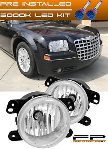 Led 2005 2010 Chrysler 300 3 5l Touring Replacement Fog Light Housing Assembly
