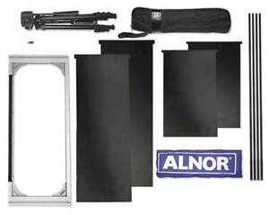 Bio Hood And Frame Kit 10 In X 21 In Tsi Alnor 801205