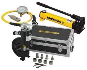 Enerpac Stp35h Hydraulic Punch Set 35ton 3 8 In