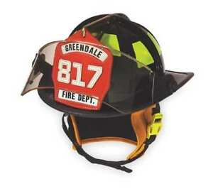 Cairns 1010fsr Fire Helmet red traditional