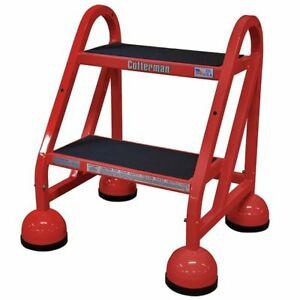 18 H Steel Rolling Ladder 450 Lb Load Capacity