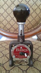 Gbc Bates Numbering Machine 7amult 6 Wheels Style E